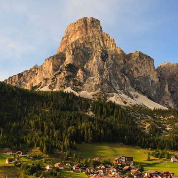Corvara in the Dolomites UNESCO